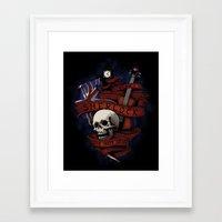 sherlock holmes Framed Art Prints featuring Sherlock Holmes by Justyna Dorsz