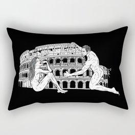 When in Rome... Rectangular Pillow