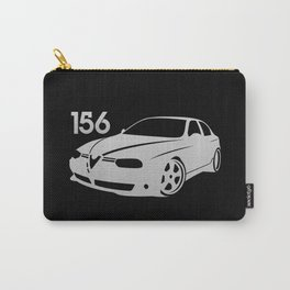 Alfa Romeo 156 - silver - Carry-All Pouch