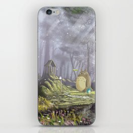 Totoro's Forest iPhone Skin
