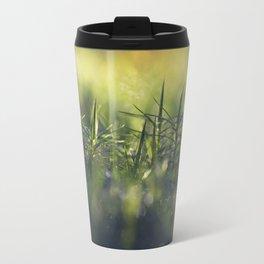 Moss; Polytrichum commune. In norwegian; Bjørnemose Travel Mug