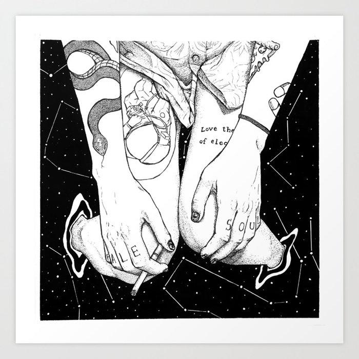 Pale Soul Art Print