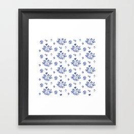 Clue in the Garden Framed Art Print