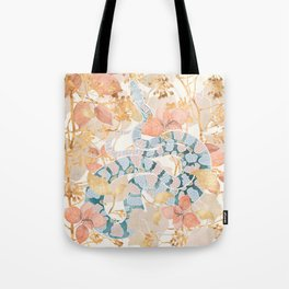 Coral Spring Garden Tote Bag