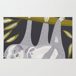 Love you – Sloth Rug