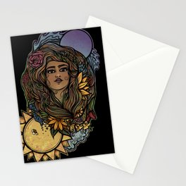 The World Tarot Gaia Goddess Stationery Cards
