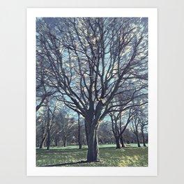 magic tree Art Print