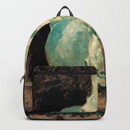 "Henri Toulouse-Lautrec - The White Horse ""Gazelle"" Backpack"