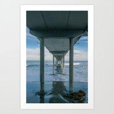 Ocean Beach Municipal Pier Art Print