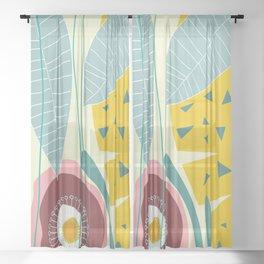 Botanika 4 Sheer Curtain