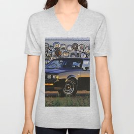 1987 Grand National Turbo Unisex V-Neck