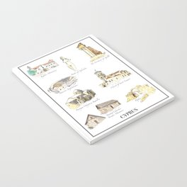 Best of Cyprus - Visit Cyprus through its most famous sites Notebook