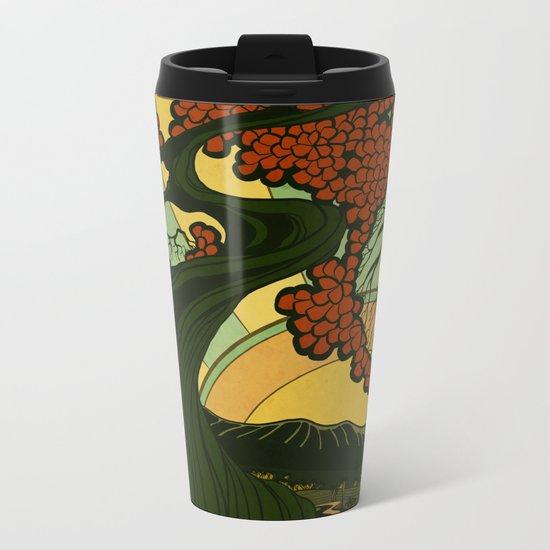 Nouveau Sun Metal Travel Mug