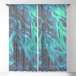 Greener Grass Sheer Curtain