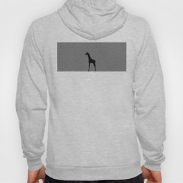 Giraffe Psychedelic Silhouette  Hoody