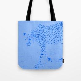 Cheetah blues Tote Bag