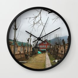 Lil' House Wall Clock
