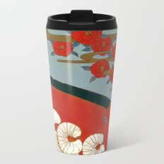 Beetle worms in the cup | Senjiro Nakata Metal Travel Mug