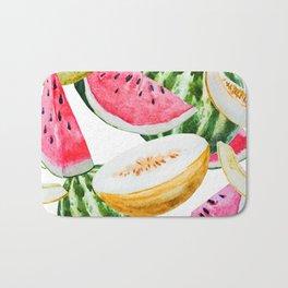 Melon Pattern 01 Bath Mat