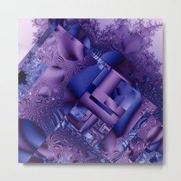 mandelbrot  structures Metal Print