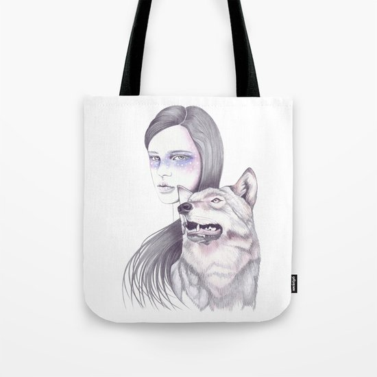 Wolf Like Me Tote Bag