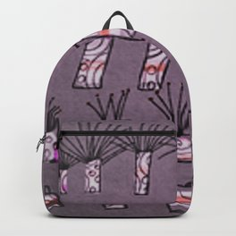 Plants and cloths Backpack
