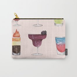 Summer Cocktails 6 Carry-All Pouch