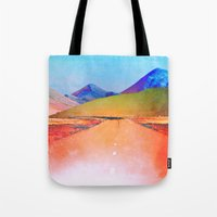 bible verse Tote Bags featuring Verse by Polishpattern
