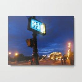 Pont Neuf in Paris (2008b) Metal Print