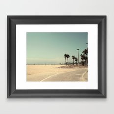 Venice Beach number 2 Framed Art Print