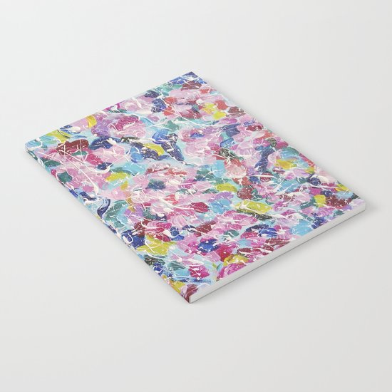 Abstract floral painting 2 Notebook