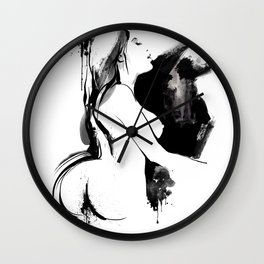 Nude Beauty Wall Clock