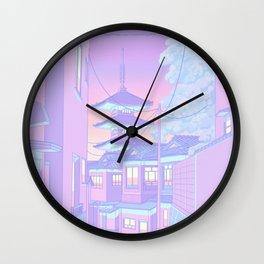 Pastel Memories Wall Clock