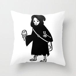 Chill Reaper Throw Pillow