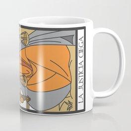 la justicia ciega Coffee Mug