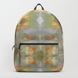 Mozaic design in soft pastel colors Backpack