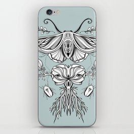 Black Mirror - Moss iPhone Skin