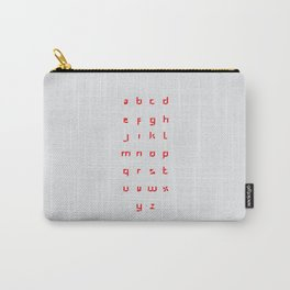 Windmill Alphabet Carry-All Pouch