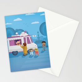 The Nick Yorkers in August Stationery Cards