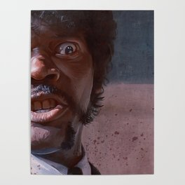 Great Vengeance And Furious Anger - Pulp Fiction Poster
