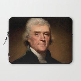President Thomas Jefferson Laptop Sleeve