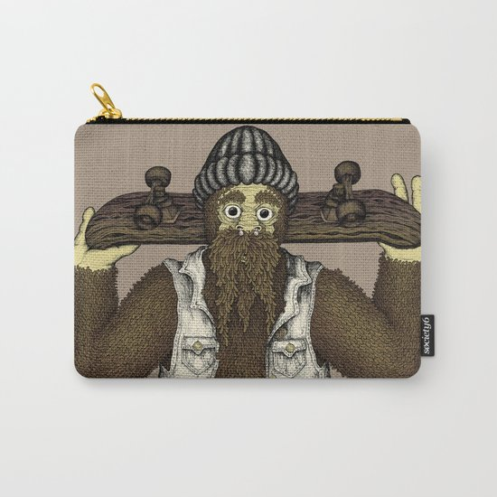 Skate Squatch Carry-All Pouch