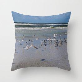 A Joyful Day Throw Pillow
