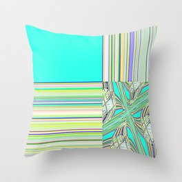 Re-Created Southern Cross IX by Robert S. Lee Throw Pillow