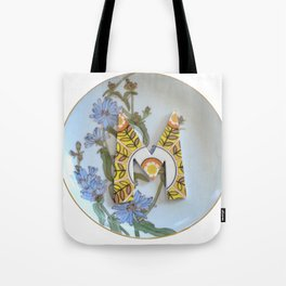 Love Letters to Dinnerware - M Tote Bag