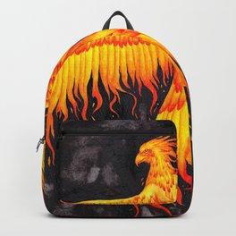 Flaming Phoenix Backpack