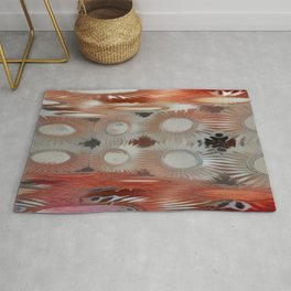 Corner Room 15 Resurrect Red Haze Rug