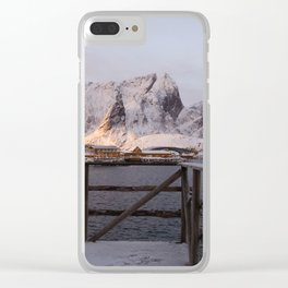 Morning in Lofoten Clear iPhone Case