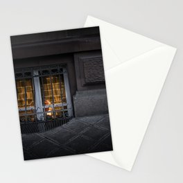 Sidewalk Window Stationery Cards