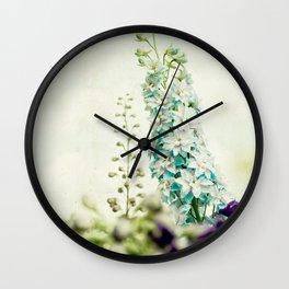 Vintage Blues Wall Clock